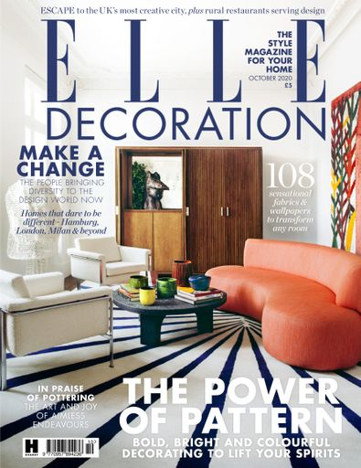 Elle Decoration (UK) magazine cover