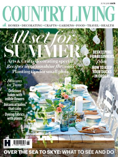 Country Living (UK) magazine cover