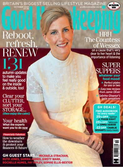 Good Housekeeping (UK) magazine cover