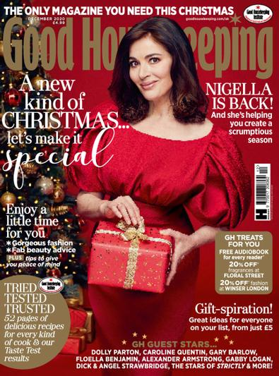 Good Housekeeping (UK) magazine cover