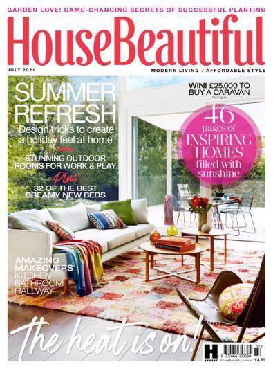 House Beautiful (UK) magazine cover