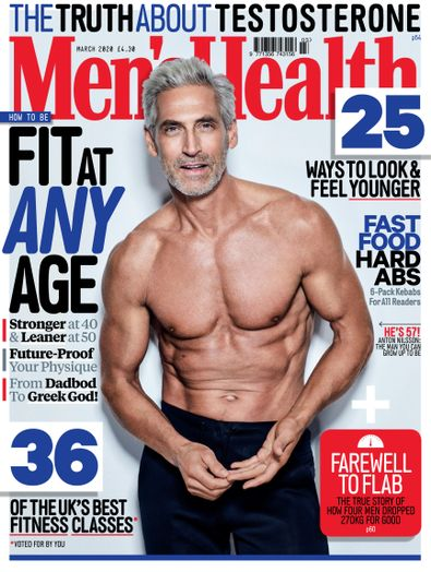 Men's Health (UK) magazine cover