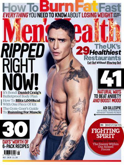 Men's Health (UK) magazine cover