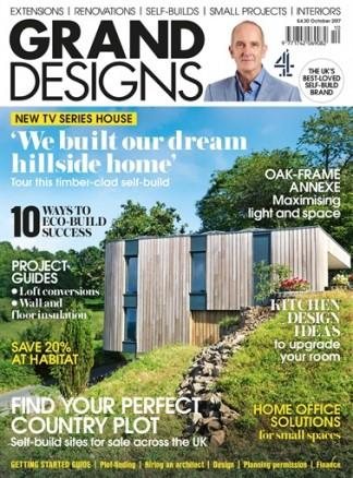 Grand Designs (UK) magazine cover