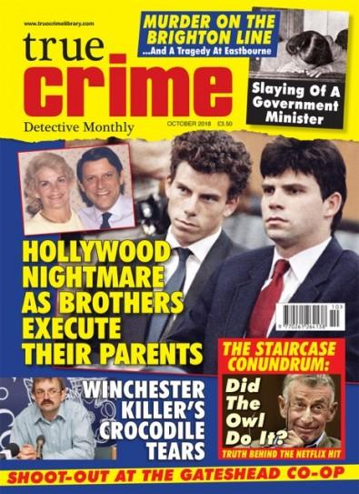 TRUE CRIME (UK) magazine cover