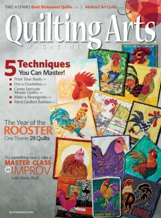 QUILTING ARTS (UK) magazine cover