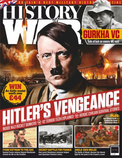 History of War (UK) magazine cover