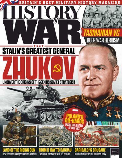 History of War (UK) magazine cover