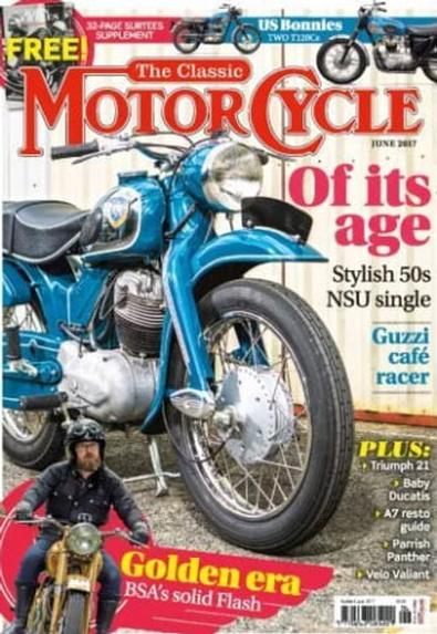 The Classic MotorCycle (UK) magazine cover