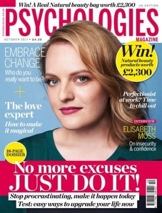 Psychologies (UK) magazine cover