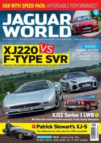 Jaguar World Monthly (UK) magazine cover