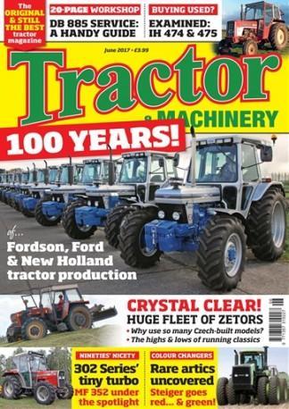 Tractor & Machinery (UK) magazine cover