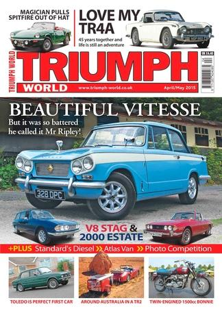 Triumph World (UK) magazine cover
