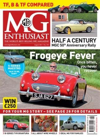 MG Enthusiast (UK) magazine cover