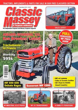 Classic Massey & Ferguson Enthusiast (UK) magazine cover