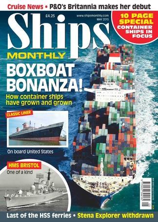 Ships Monthly (UK) magazine cover