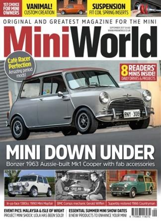 MiniWorld (UK) magazine cover