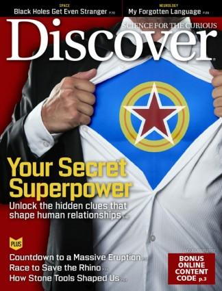 DISCOVER (UK) magazine cover