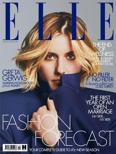 Elle (UK) magazine cover
