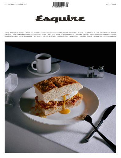 Esquire (UK) magazine cover