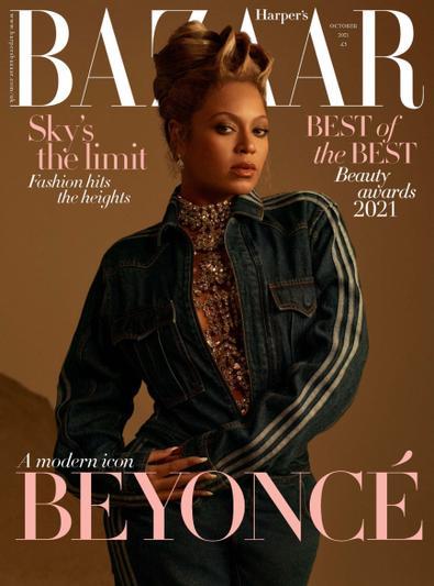 Harper's Bazaar (UK) magazine cover