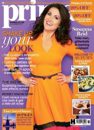 Prima (UK) magazine cover