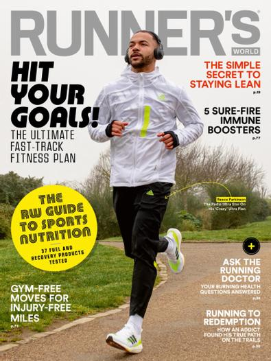 Runner's World (UK) magazine cover