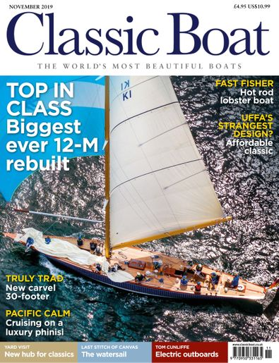 Classic Boat (UK) magazine cover