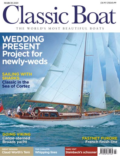 Classic Boat (UK) magazine cover