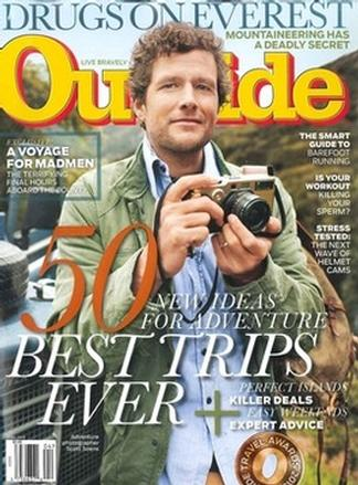 OUTSIDE MAGAZINE (UK) cover