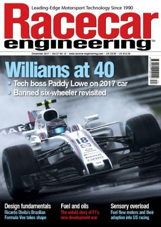 Racecar Engineering (UK) magazine cover