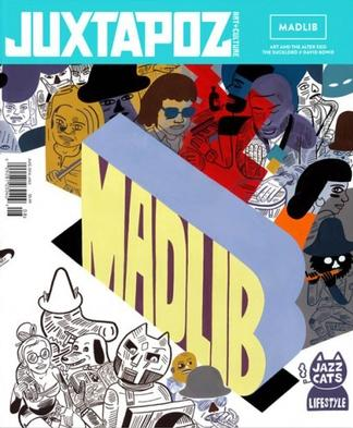 JUXTAPOZ (UK) magazine cover