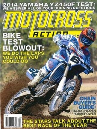 MOTOCROSS ACTION (US) magazine cover
