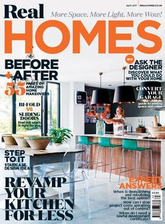 Real Homes (UK) magazine cover