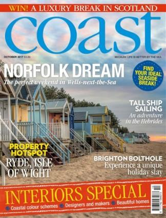 Coast (UK) magazine cover