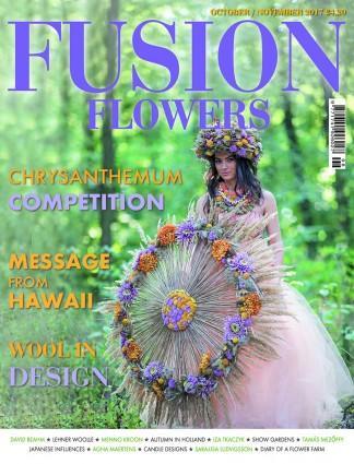 Fusion Flowers (UK) magazine cover