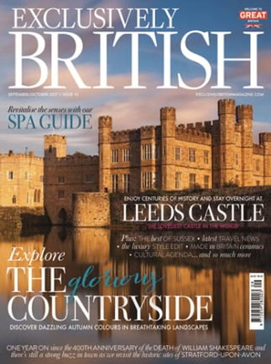 Exclusively British Magazine (UK) cover