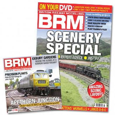 British Railway Modelling (UK) magazine cover