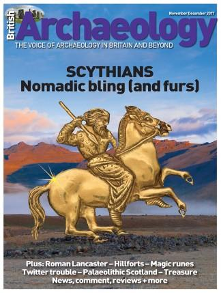 British Archaeology (UK) magazine cover
