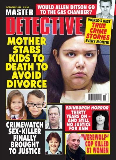 MASTER DETECTIVE (UK) magazine cover