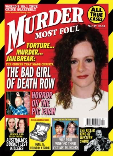 MURDER MOST FOUL (UK) magazine cover