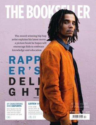 The Bookseller (UK) magazine cover
