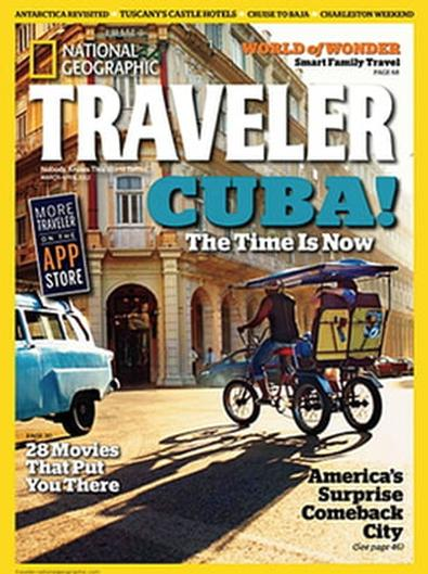 National Geographic Traveler USA magazine cover
