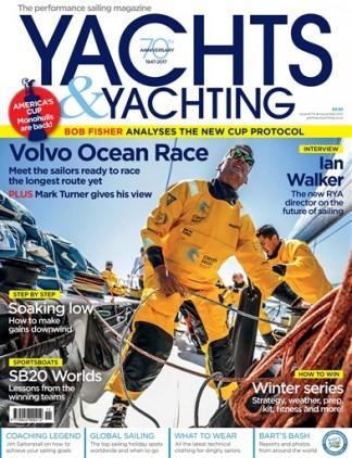 Yachts & Yachting (UK) magazine cover