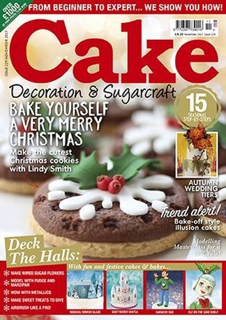 Cake Decoration & Sugarcraft (UK) magazine cover