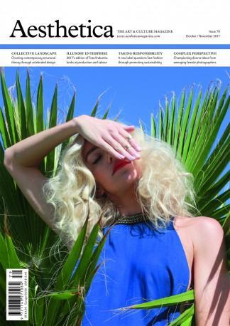 Aesthetica (UK) magazine cover