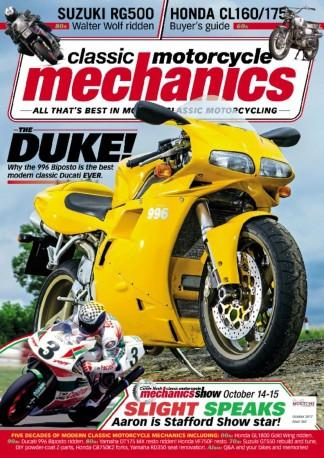 Classic Motorcycle Mechanics (UK) magazine cover