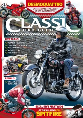 Classic Bike Guide (UK) magazine cover