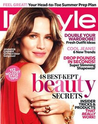 Instyle USA magazine cover