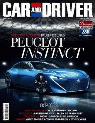 Car & Driver USA magazine cover